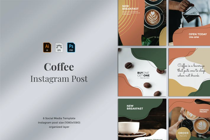 Kopi - Instagram Post Template 02