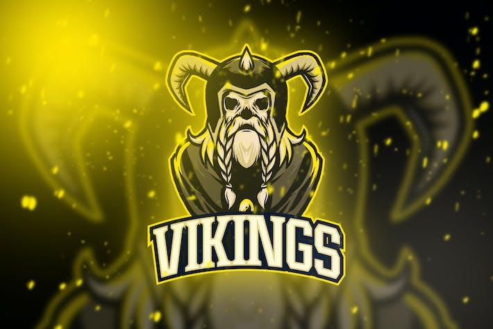 Thumbnail for Viking Esport Logo Vol. 5