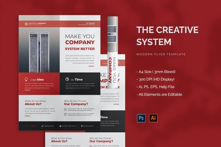 Creative System - Flyer