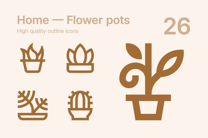 Thumbnail for Home — Flower pots