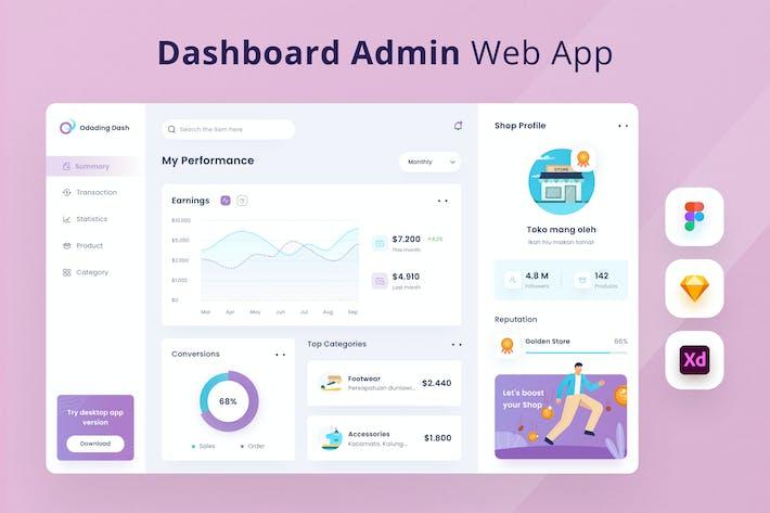 Thumbnail for Dashboard Admin Web App