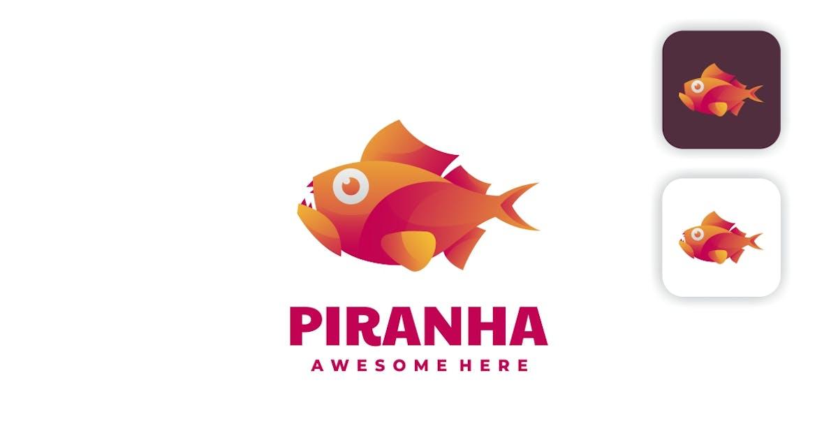 Download Piranha Gradient Colorful Logo by artnivora_std