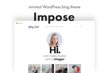 Impose Blog - A WordPress Blog Theme For Bloggers