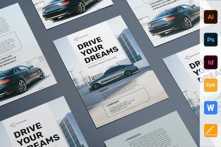 Car Dealership Flyer