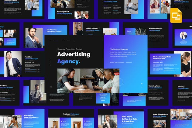 Advertising Agency - Business Google Slides