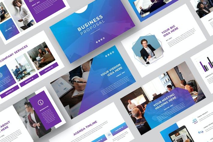 Thumbnail for BUSINESS - Vorschlag Keynote Vorlage