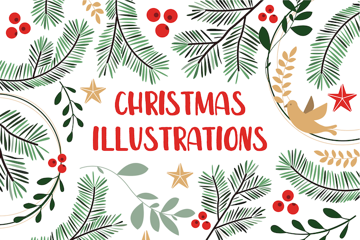 Thumbnail for Christmas Illustrations