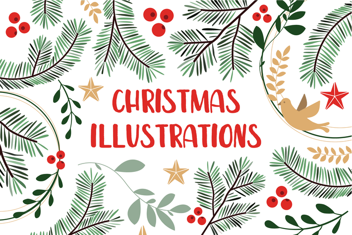 Thumbnail for Christmas Illustrations