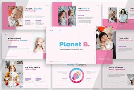Planet B - Plantilla de presentación
