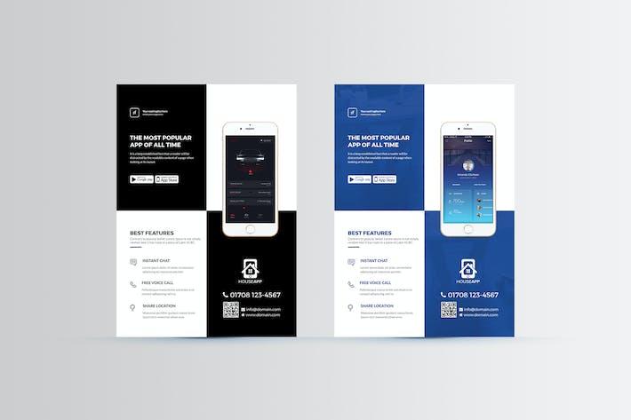 Thumbnail for Mobile App Flyer