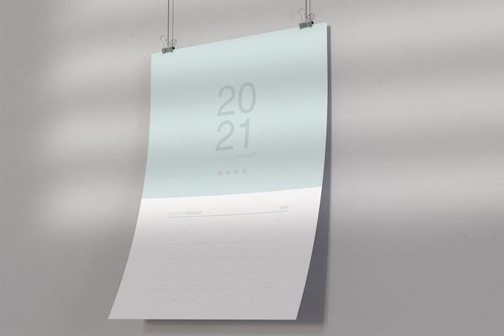 Thumbnail for Spiral Calendar Mockup