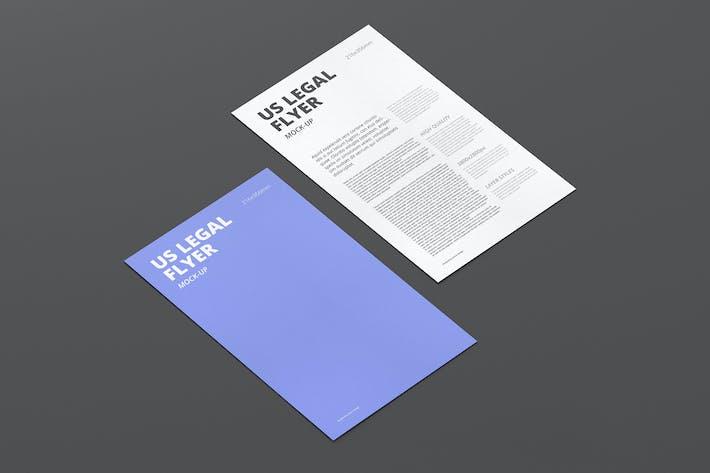 us legal flyer mock up by visconbiz on envato elements