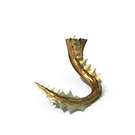 Goldener Drachenschwanz