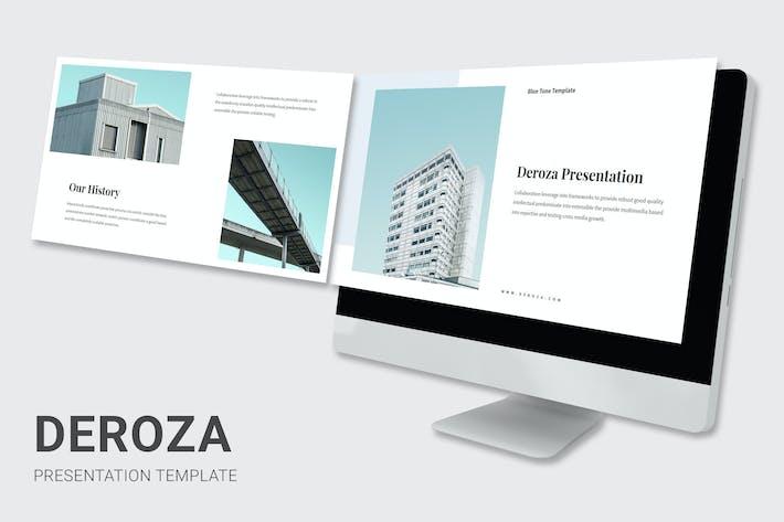 Leroza - Blue Color Tone Proposal Keynote