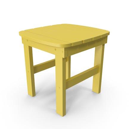 Желтый наружный боковой стол