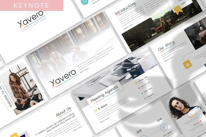 Thumbnail for Xavero - Business Keynote Template
