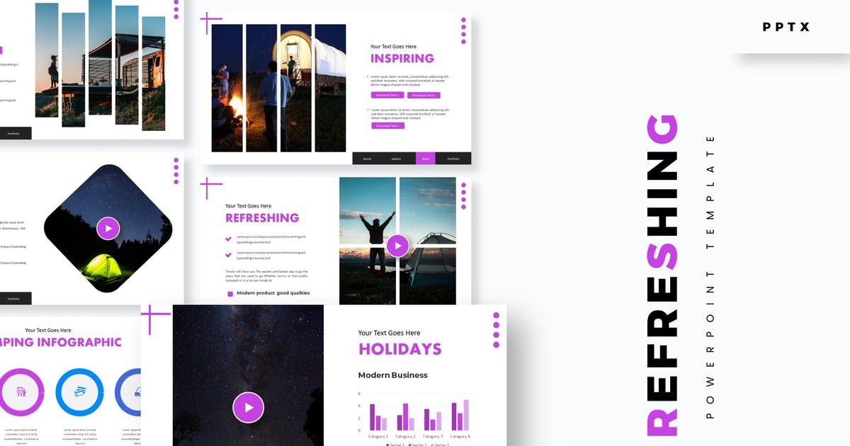 Download Refreshing - Powerpoint Template by aqrstudio