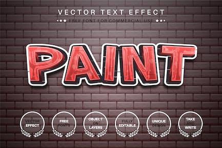 Graffiti Brick -  Editable Text Effect, Font Style