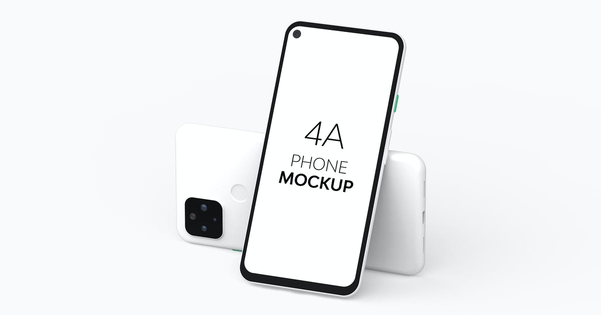 Download 4A Phone Mockup by UnicDesign