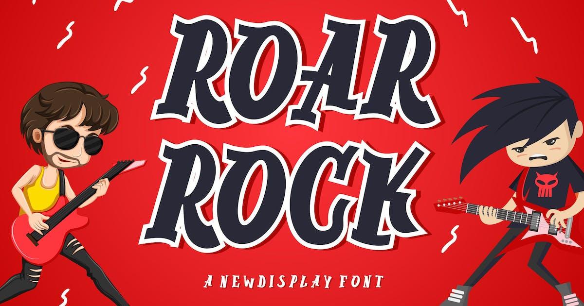 Download Roar Rock Display Font by blunesia