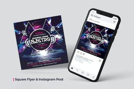 Ascending Sound Flyer & Social Post