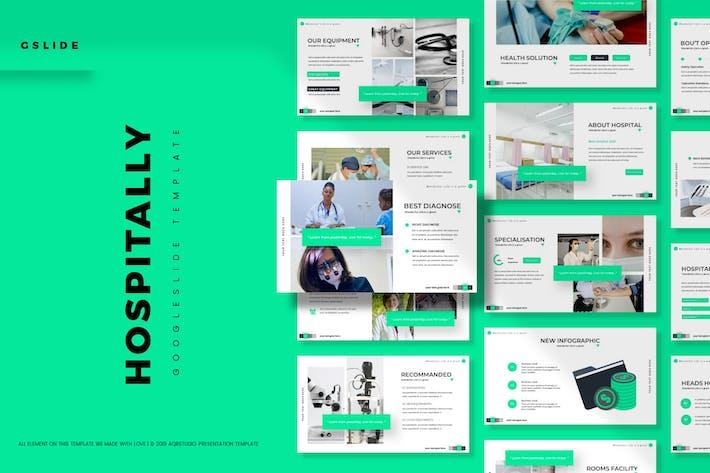Hospitally - Google Slides Template
