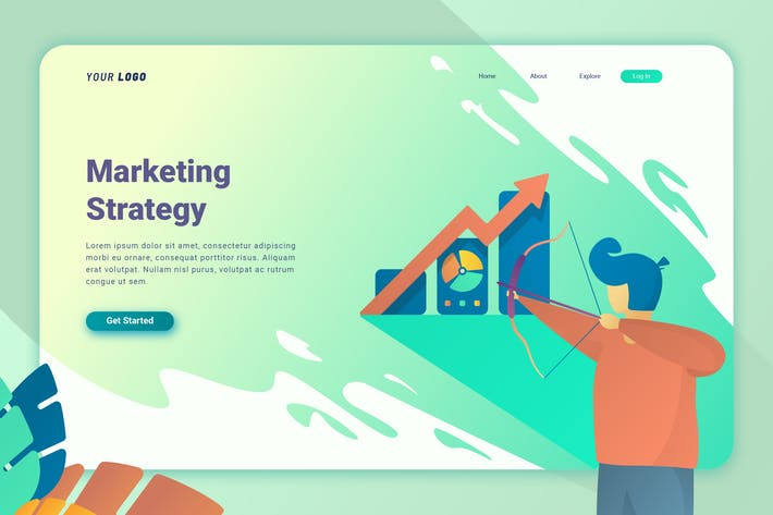 Thumbnail for Marketing Strategy - Landing Page