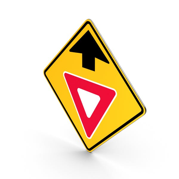 Rendite Ahead Verkehrssteuerung Straßenschild