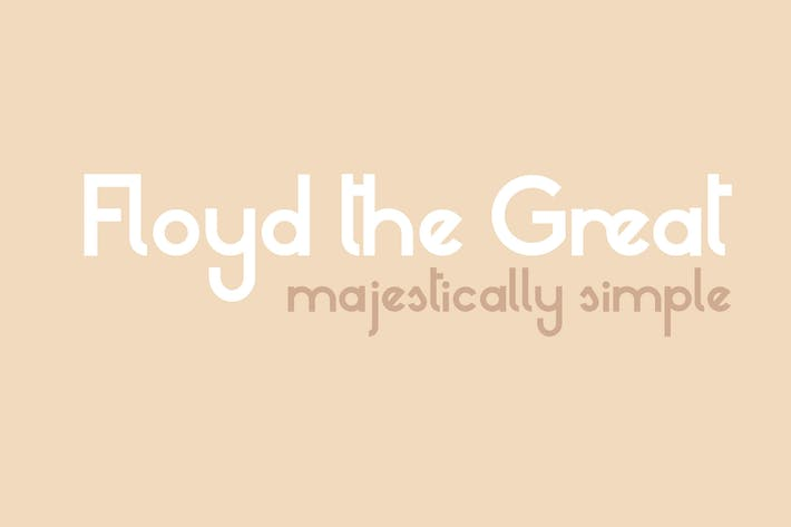 Thumbnail for Floyd the Great - Multilingual Sans