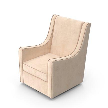 White Swivel Chair