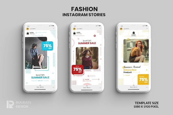 Fashion Instagram Stories r2 Template