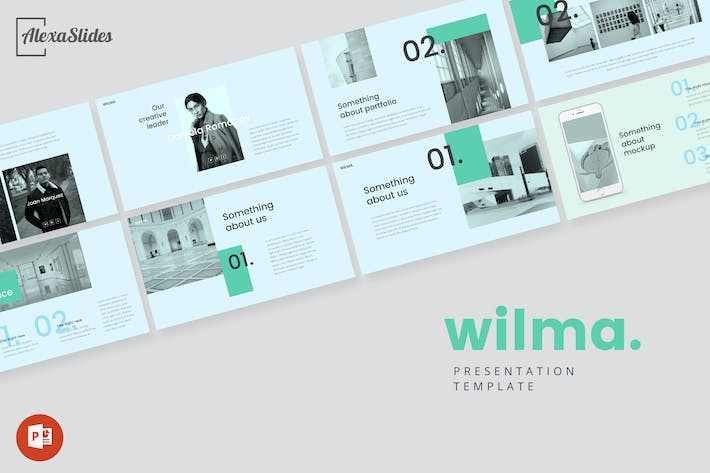 Thumbnail for Wilma - Powerpoint Presentation Template