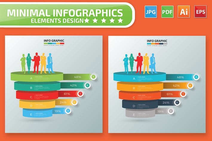 Thumbnail for Human Resource Infographic Design