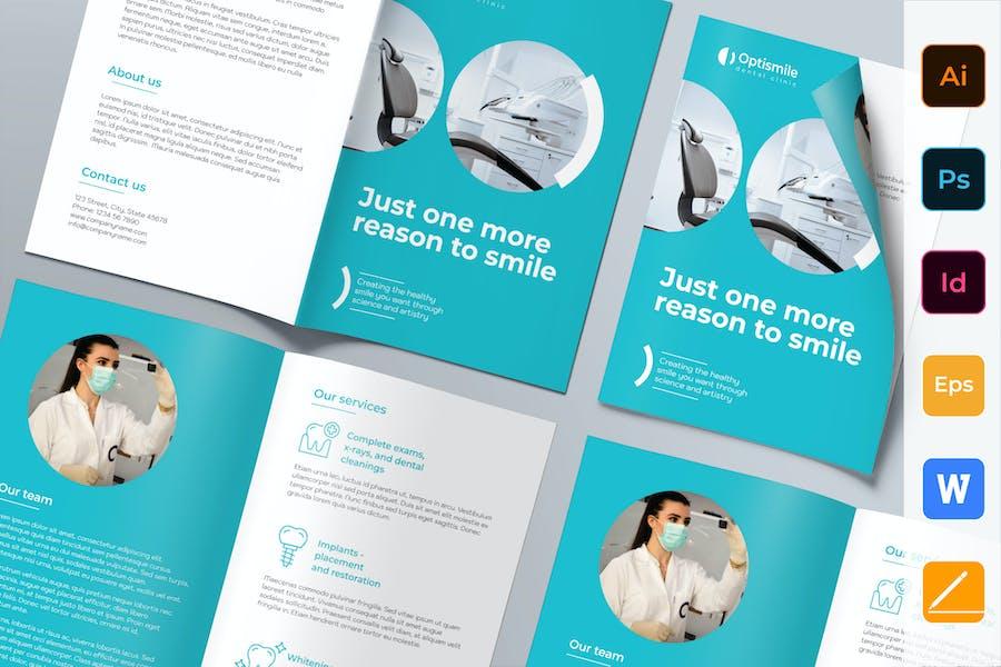 Dental Clinic Brochure Bifold