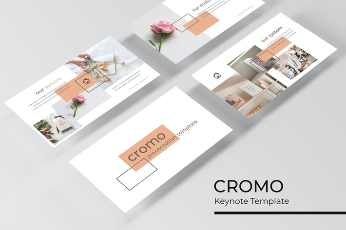 Thumbnail for Cromo - Keynote Template
