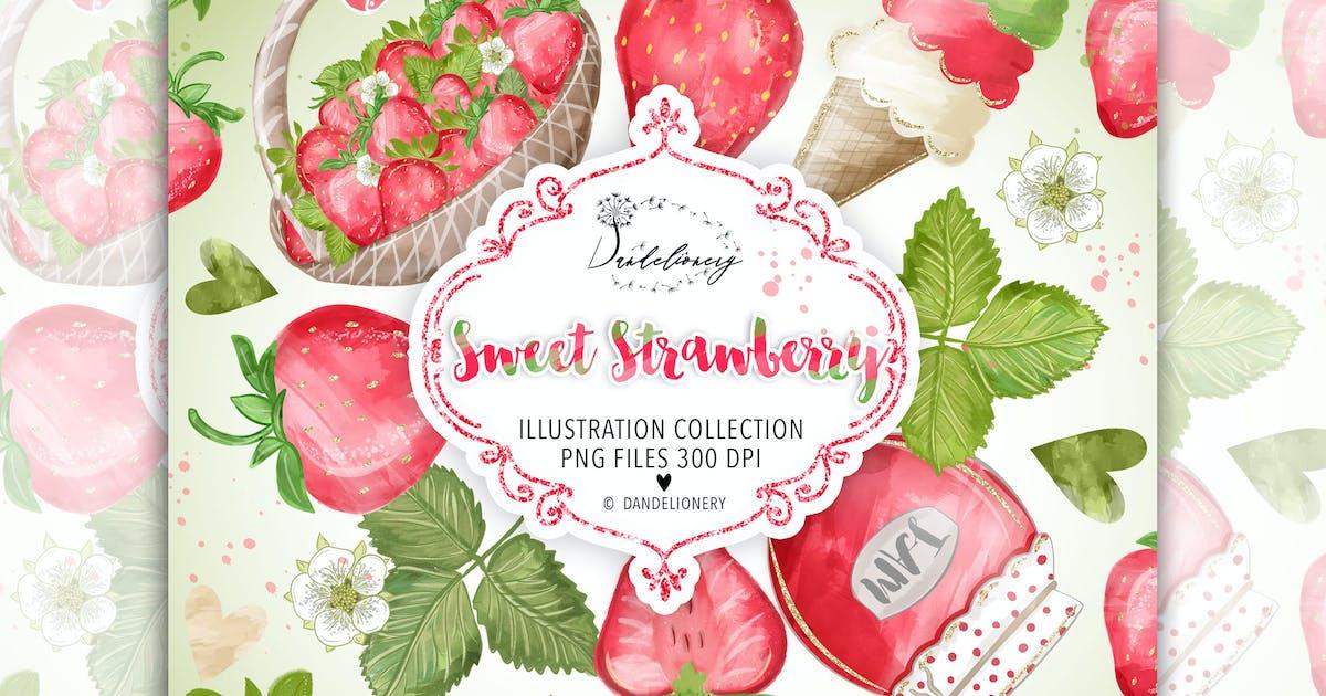 Download Sweet Strawberry design by designloverstudio