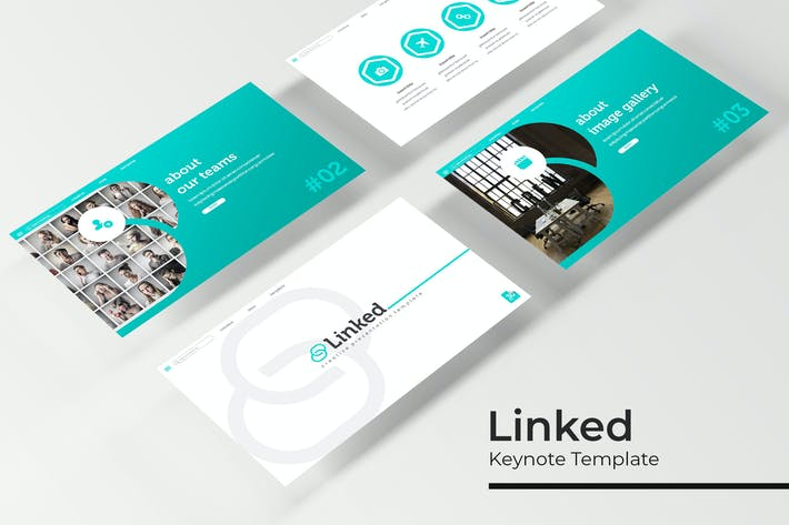 Thumbnail for Linked - Keynote Template
