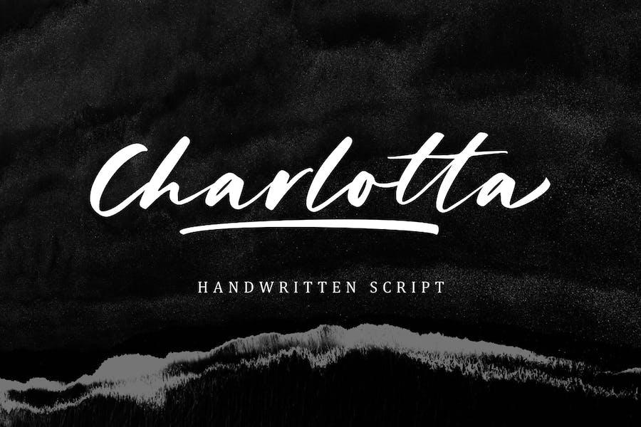 Charlotta - Handwritten Script