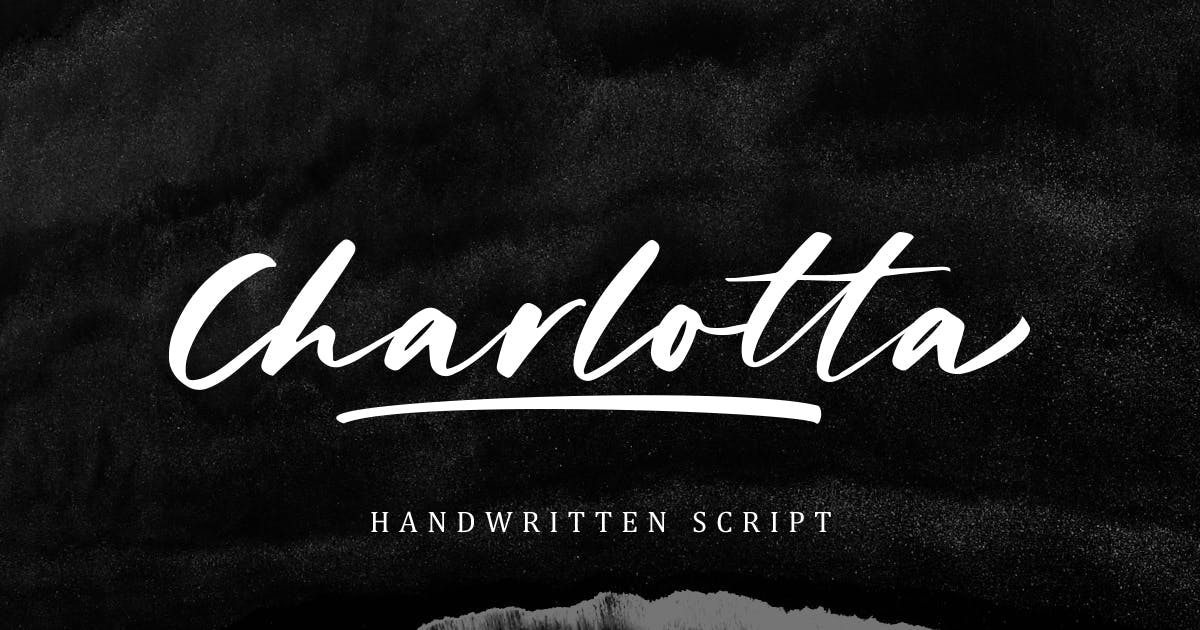 Charlotta - Handwritten Script by letterhend
