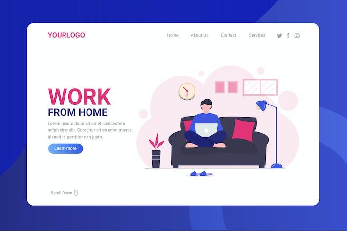 Thumbnail for Trabajar desde casa - Página de inicio