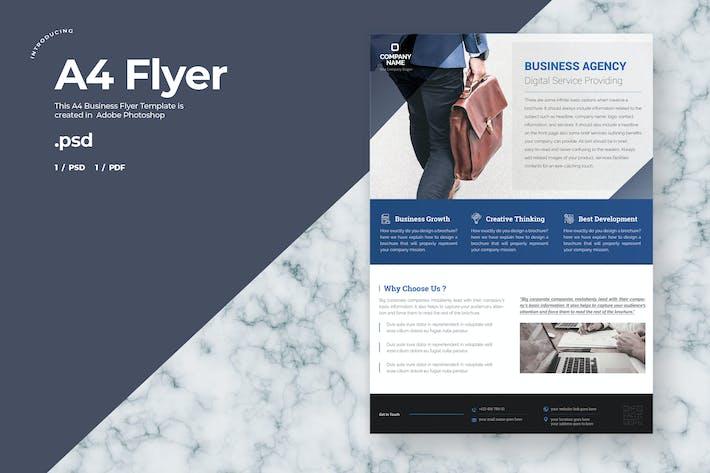 Thumbnail for Unternehmens- Flyer - A4