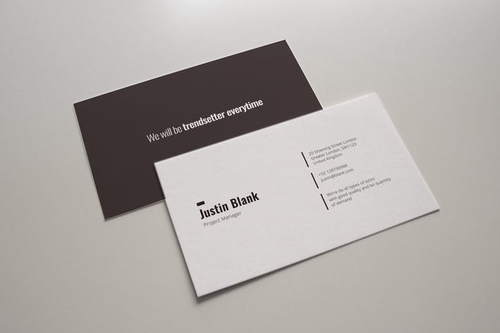 Thumbnail for Corporate Business Card Typica Vol.08