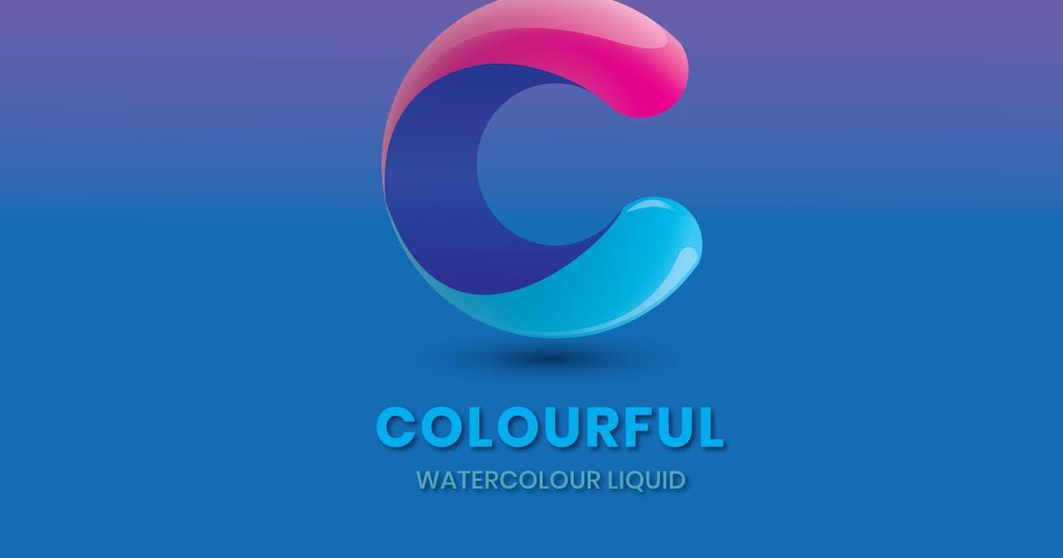 Download Letter C - Watercolour liquid by nanoagency