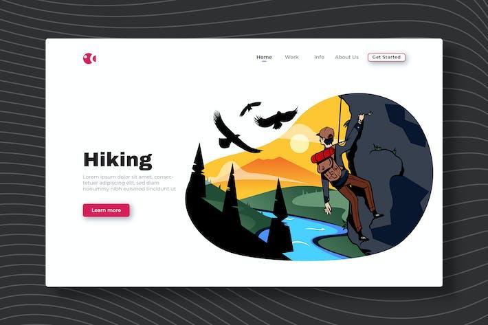 Thumbnail for Пешие прогулки - Landing Page