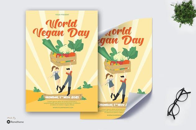 World Vegan Day - Poster AS