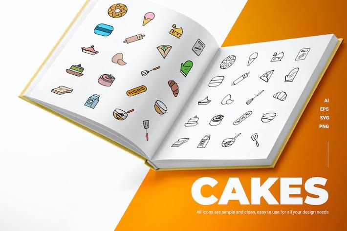 Cakes - Icons