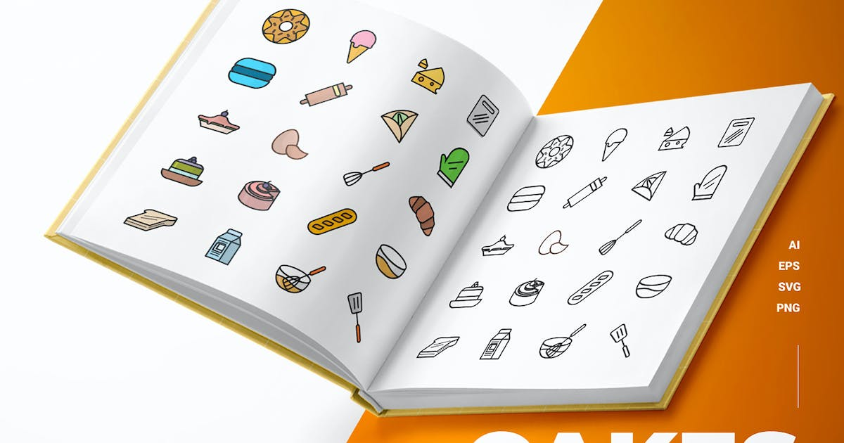 Download Cakes - Icons by esensifiksi