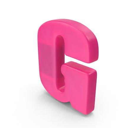 Kühlschrankmagnet Alphabet
