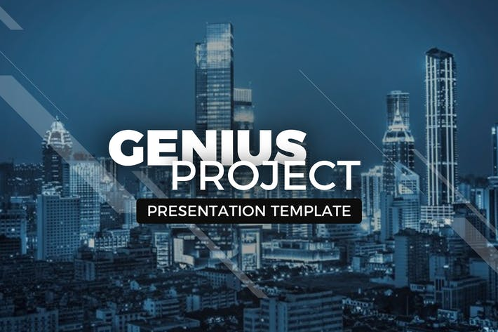 Thumbnail for Genius Project Presentation Template