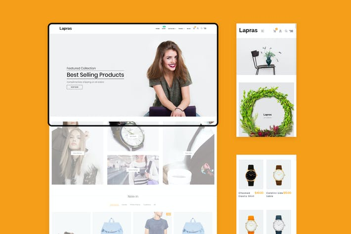 Thumbnail for Lapras Responsive Shopify Theme